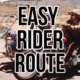 Route from the 1969 Movie Easy Rider