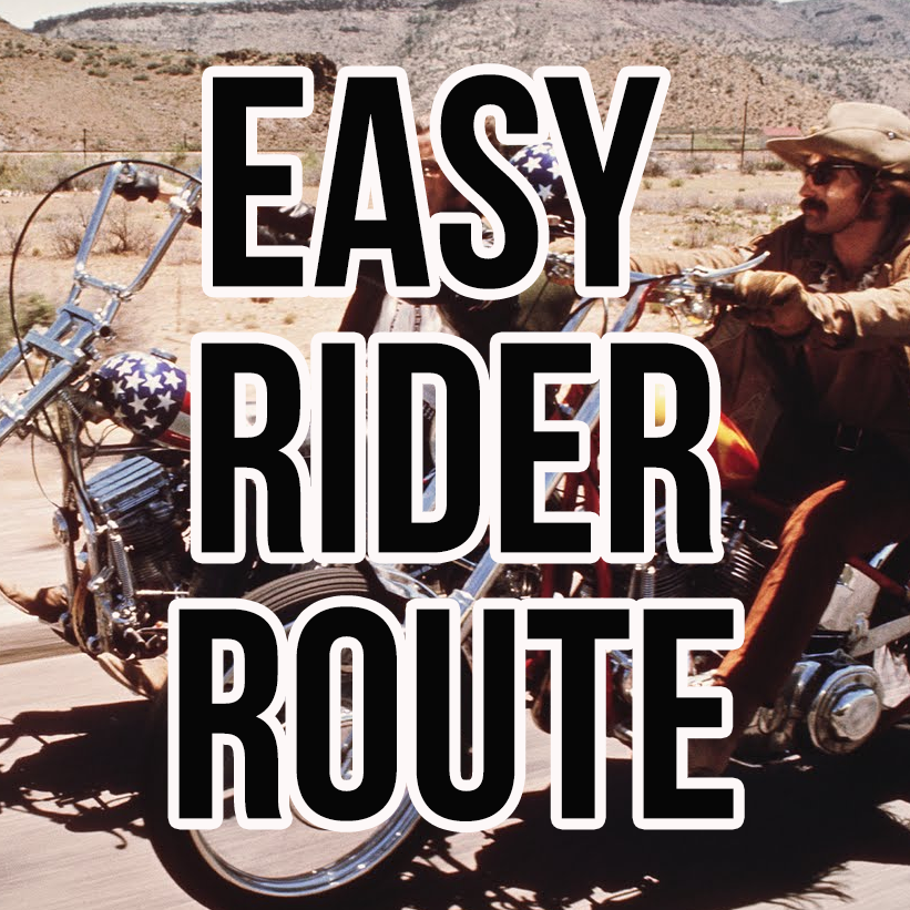 route from the 1969 movie easy rider mrzip66. Black Bedroom Furniture Sets. Home Design Ideas